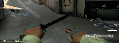Поменять руку CS:GO левая