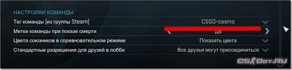 Теги кланов в CS:GO. Как изменить клан-тег в STEAM для кс го.