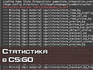 Статистика Counter-Strike GO