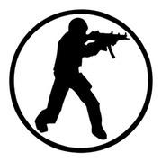 Спрей Counter-Strike лого