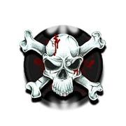 Спрей Кровавый череп