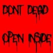 Спрей Мертвые внутри