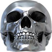 Спрей Металлический череп