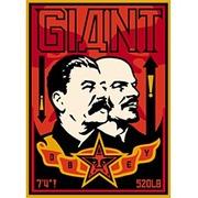 Спрей Плакат Сталин и Ленин