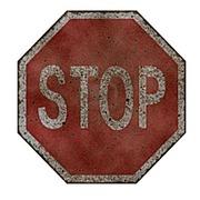 Спрей Ржавый знак Stop