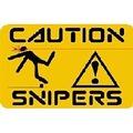 Спрей Осторожно снайпер